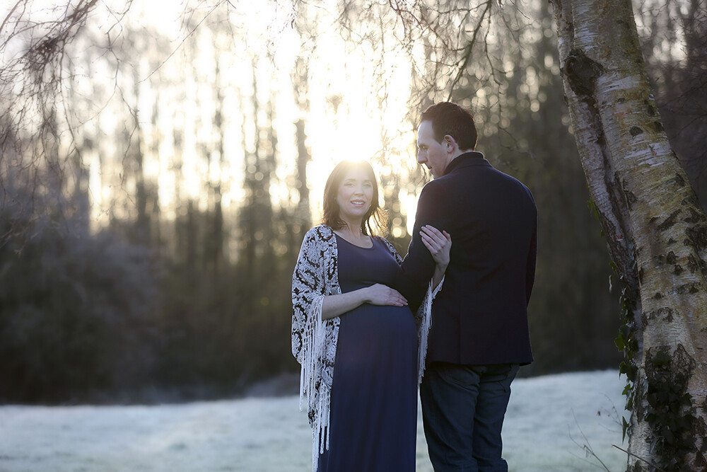 outdoor maternity photoshoot dublin wicklow kildare